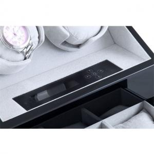 Watch Winder San Diego 2 Black by Designhütte – Made in Germany - personalizabil3