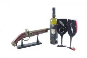 Wine Set & Vintage Gun2