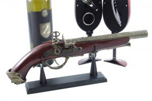 Wine Set & Vintage Gun1
