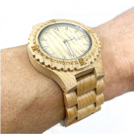 Luxury Wood Watch for Men - Ceas lemn ecologic personalizabil [2]