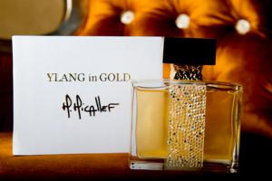 Set Ylang in Gold by M.Micallef - Eau de Parfume 100 Ml si Esarfa Cacharel3