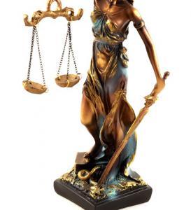 "Statueta ""Zeita Justitiei"" 30cm3"