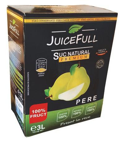 Suc natural de pere Juicefull 3l 0