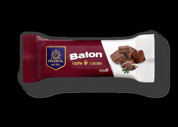 Baton cu lapte și cacao 60g 0