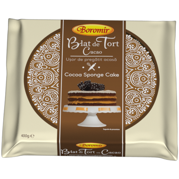 Blat tort cu cacao 400g 0