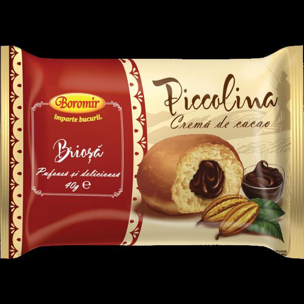 Piccolina brioșă cremă de cacao 40g 0