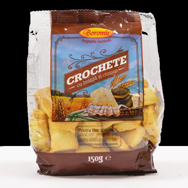 Crochete cu brânză și chimen 150g [0]