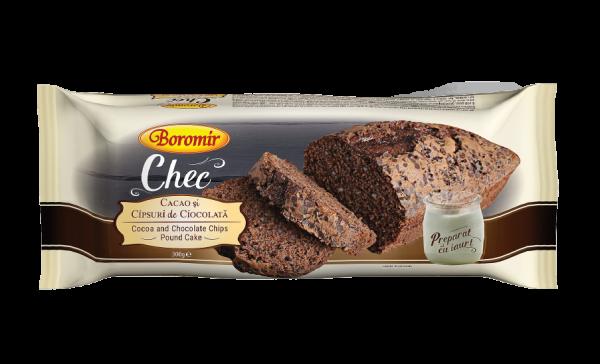 Chec cacao si cipsuri ciocolata 300g 0