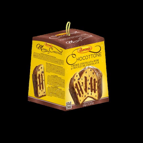 Chocottone Boromir cu crema de ciocolata si rom [0]