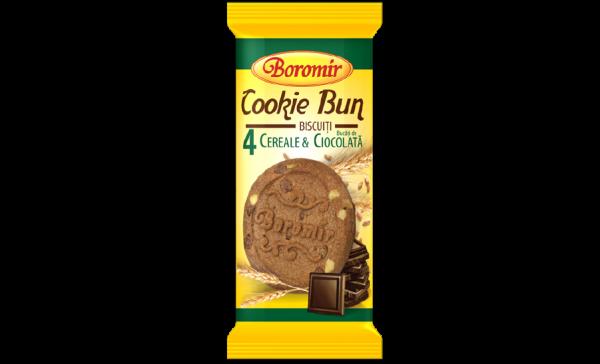 Biscuiti cu cereale și bucăți de ciocolată 40g 0