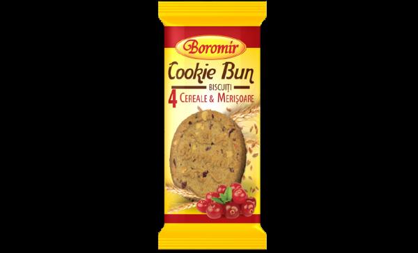 Biscuiți cu cereale și merișoare 40g 0