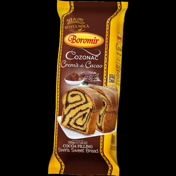 Cozonac cremă cacao 500g 0