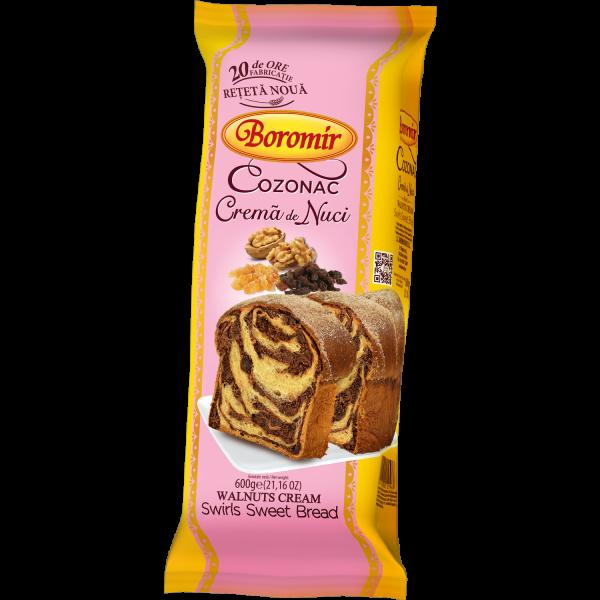 Cozonac Traditional Boromir cu crema de nuci [0]