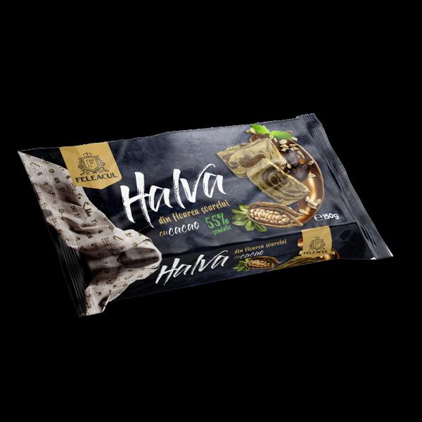 Halva cu cacao 55% semințe 150g [0]
