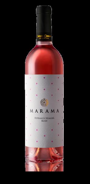 Segarcea Marama - Vin Feteasca Neagra Roze Sec 750ml, alc.13%, an 2018 0