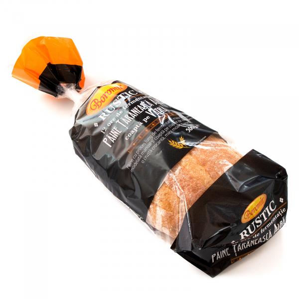 Pâine țărănească albă coaptă pe vatră 500g 1