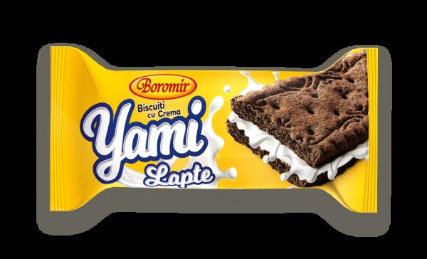 Biscuiți Yami lapte 32g 0