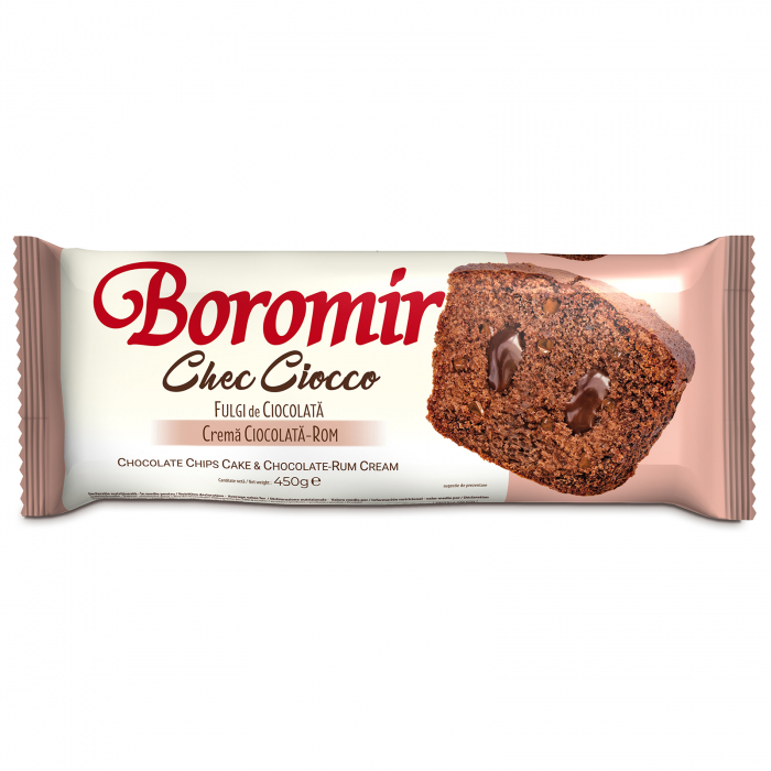 Chec Ciocco fulgi de ciocolata crema ciocolata rom 450g [0]