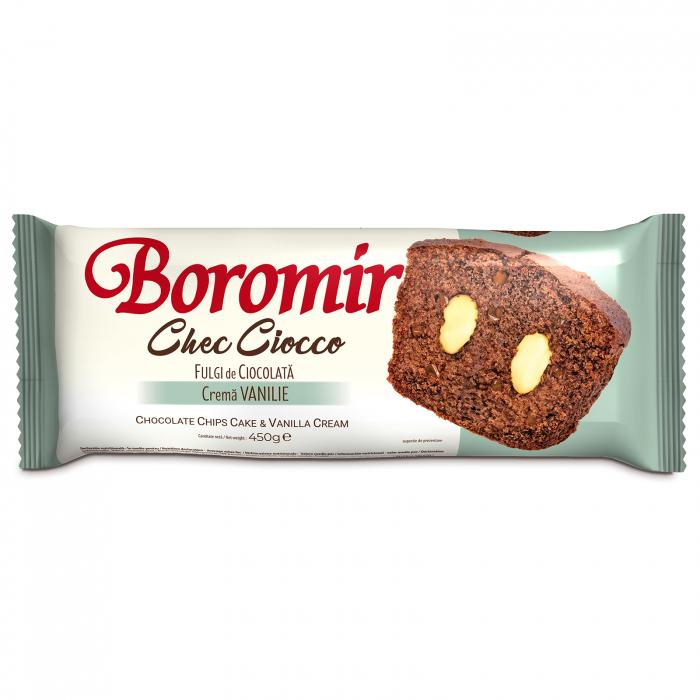 Chec Ciocco fulgi de ciocolata crema vanilie 450g [0]