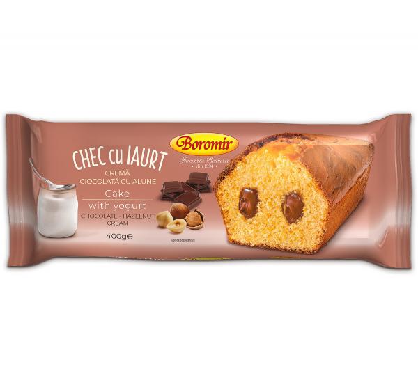 Chec cu iaurt si crema de ciocolata si alune [0]