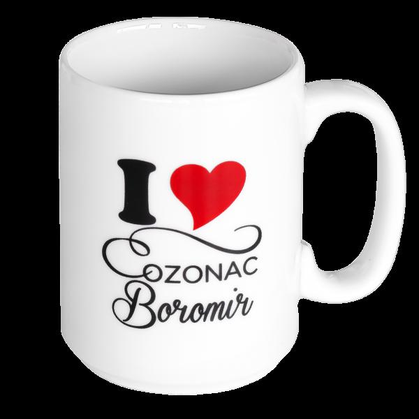 Cană I Love Cozonac Boromir 0