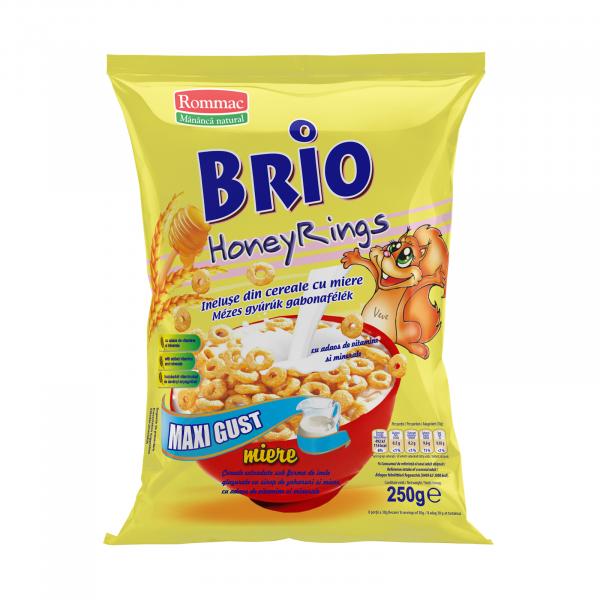 Cereale Brio HoneyRings 250g 0
