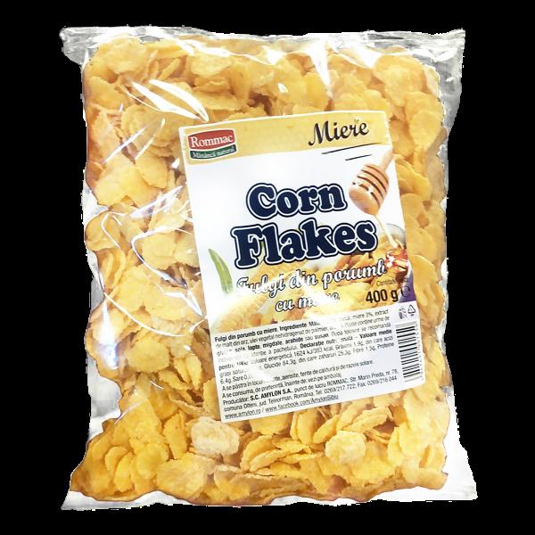 Fulgi de porumb cu miere corn flakes 400g 0