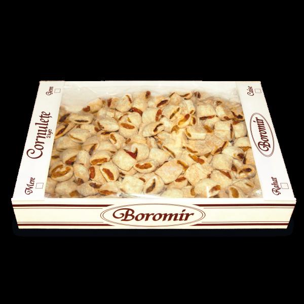 Cornulețe cu caise cutie 2kg 0