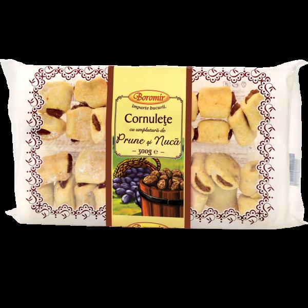 Cornulețe umplute cu prune și nucă Boromir [0]