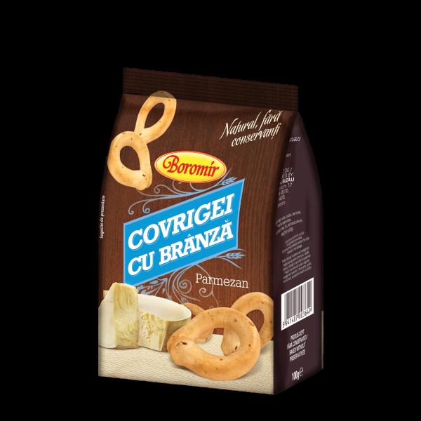 Covrigei cu brânză și parmezan 100g 0