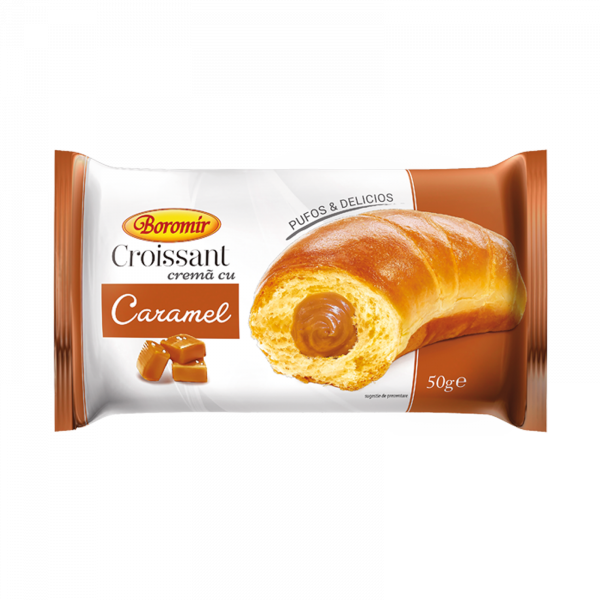 Croissant cremă caramel 50g 0