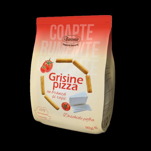 Grisine cu pizza, brânza și roșii 90g 0