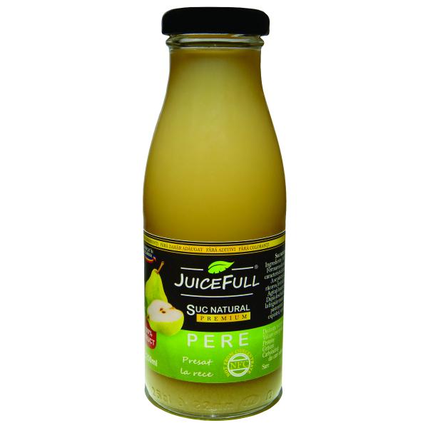 Suc natural de pere Juicefull 250ml 0