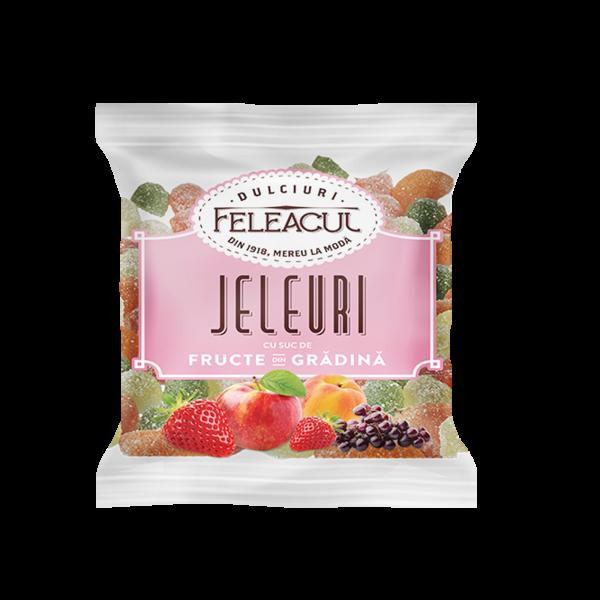 Jeleuri cu suc de fructe din grădina 150g 0