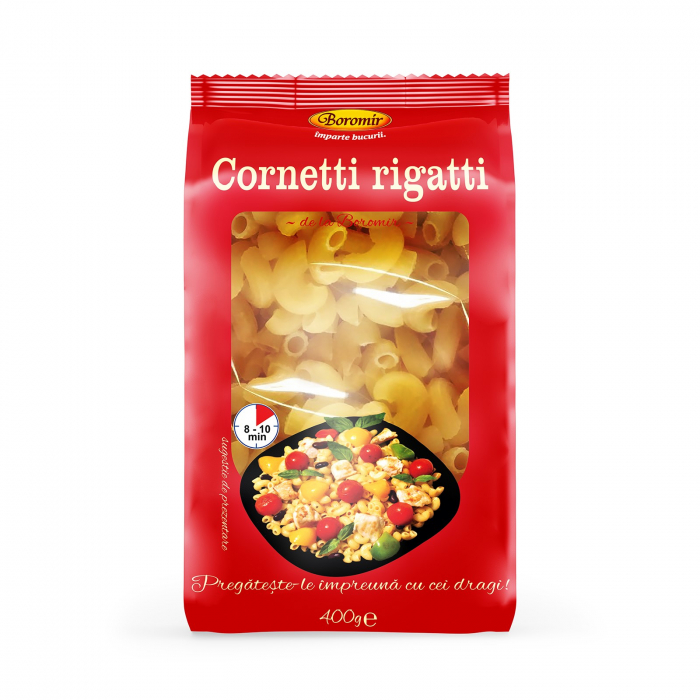 Paste Cornetti Rigatti 400g [0]