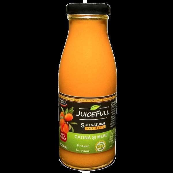 Suc natural de cătină și mere Juicefull 250ml [0]