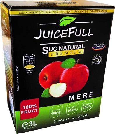 Suc natural de mere Juicefull 3l 0