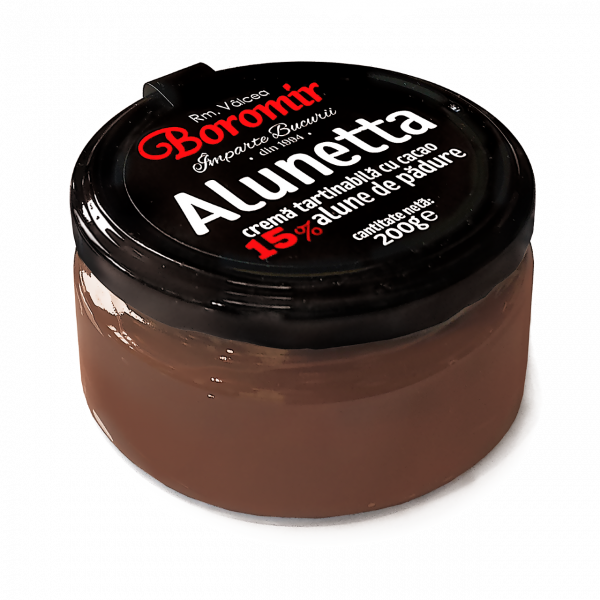 Alunetta cremă cacao și alune de padure 200g [0]