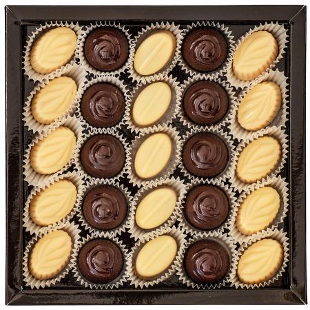 Praline de Ciocolată cu Unt de Arahide, Caramel Sărat și Cremă Alunetta 290g1