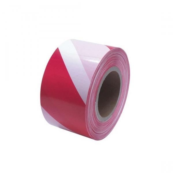 Bandă delimitare alb roşu 200m lungime 0
