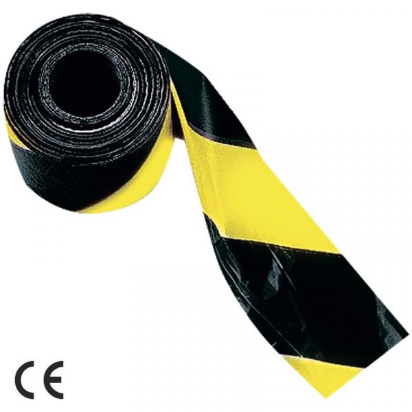 Bandă semnalizare galben / negru 142/640 0