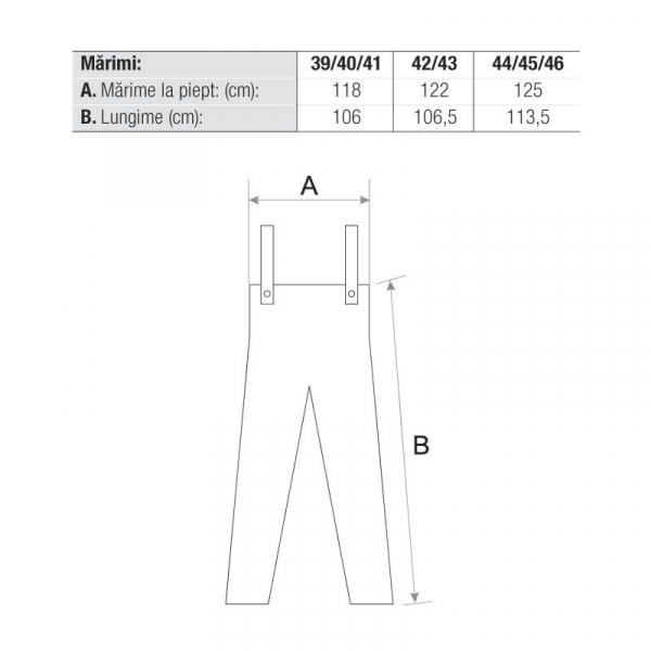 Cizme pantalon S3 SRC  WADERS 1
