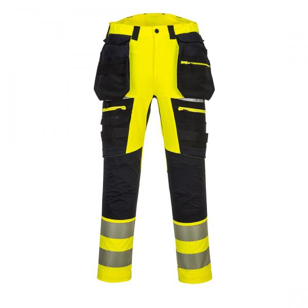 DX4 Hi -Vis Pantaloni cu buzunare detasabile DX442 0