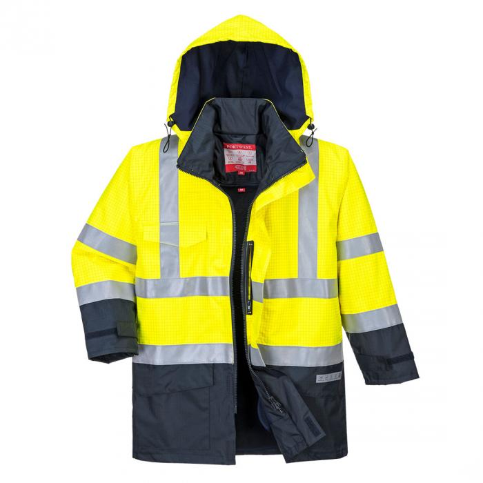 Jacheta de ploaie Bizflame HiVis Protectie Multipla S779 [0]