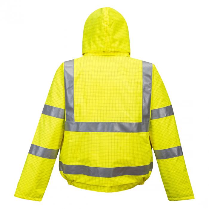 Jacheta de ploaie HiVis Bizflame, Antistatica, Ignifuga S773 1