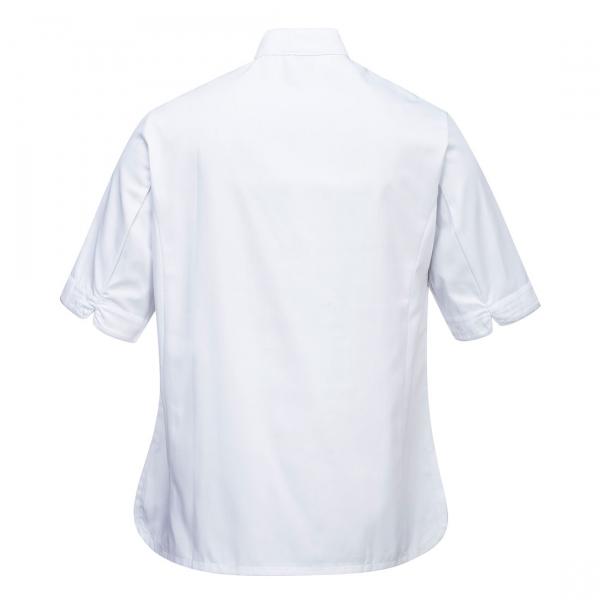 Jachete de bucatar de dama cu maneca scurta C737 1