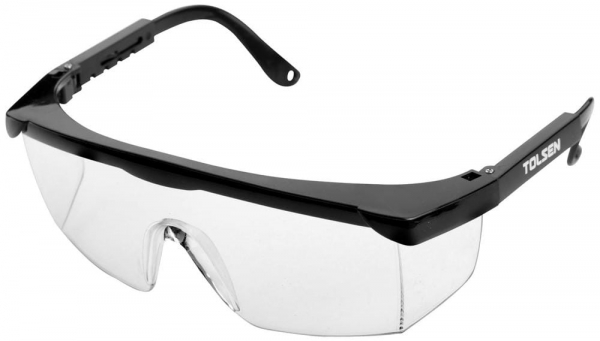 Ochelari protectie cu lentila incolora Tolsen [0]