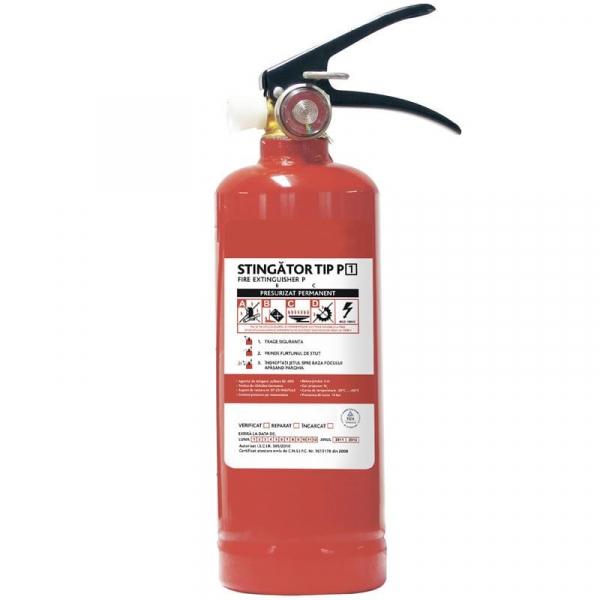 Stingător incendiu tip P1 0