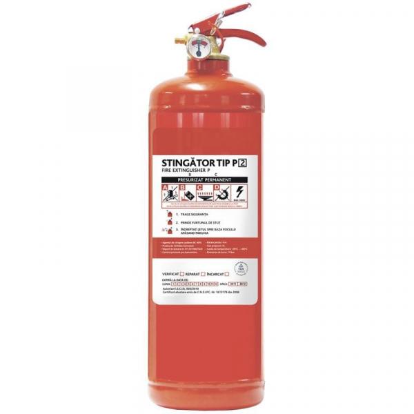 Stingător incendiu P2 0