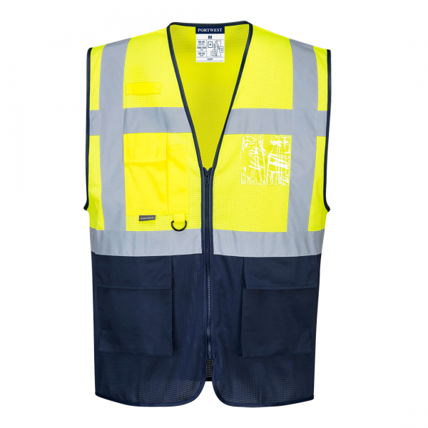 Vesta Executive HI VIS in 2 tonuri gama MeshAir C377 0